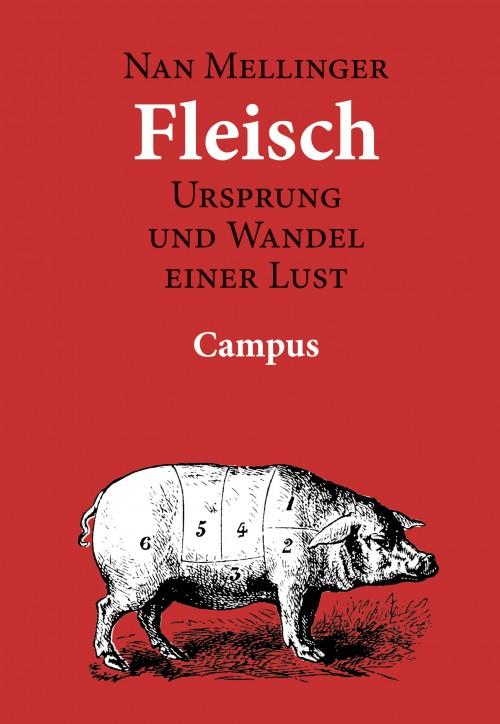 Cover Nan Mellinger: Fleisch. Urpsung und Wandel einer Lust.
